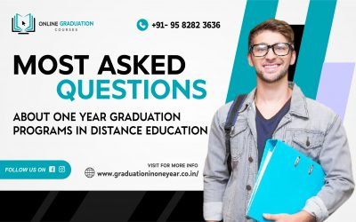 Most asked questions about One Year Graduation Programs in Distance Education