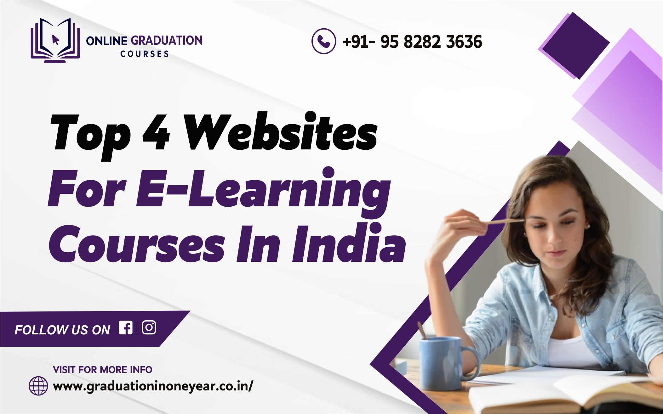 top 4 websites for E-learning courses