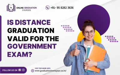 Is distance graduation valid for the Government exam?